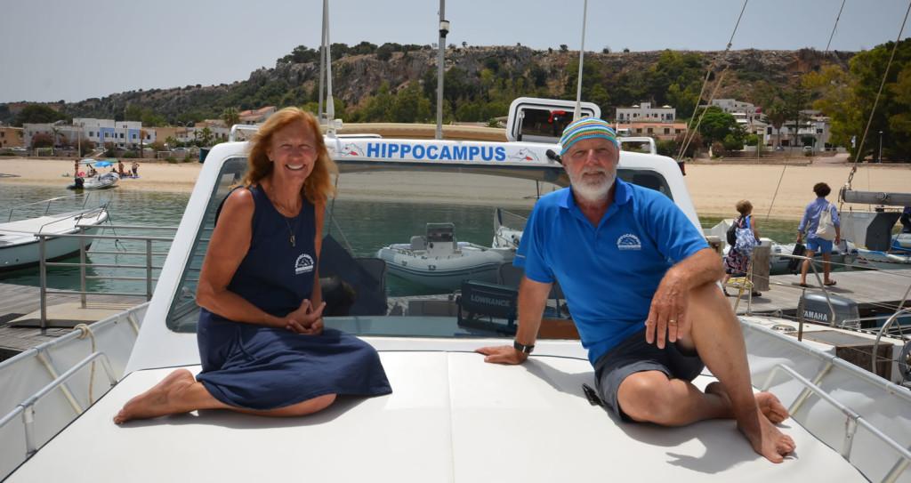 Susan e Mauro Hippocampus San Vito Lo Capo